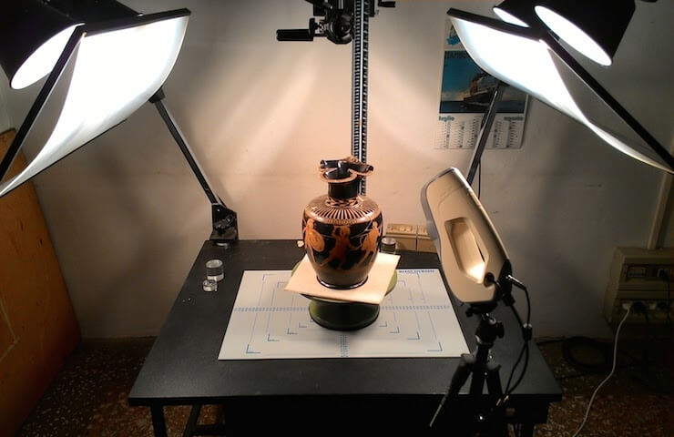 Scansione 3D con scanner a luce strutturata