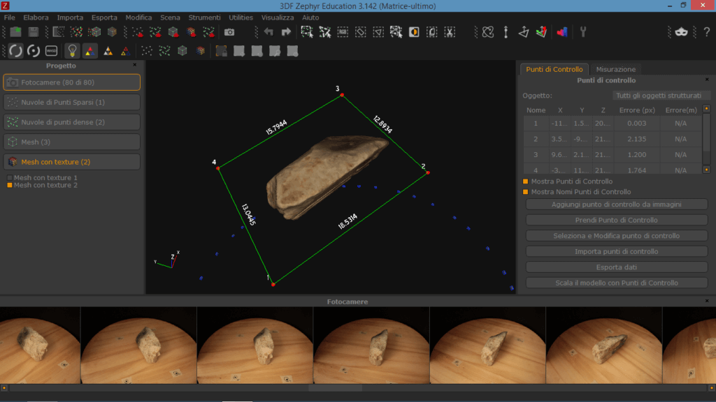 fotogrammetria 3d zephyr