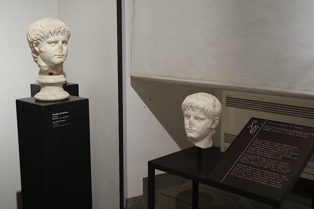 Percorso tattile del Museo del Palatino di Roma